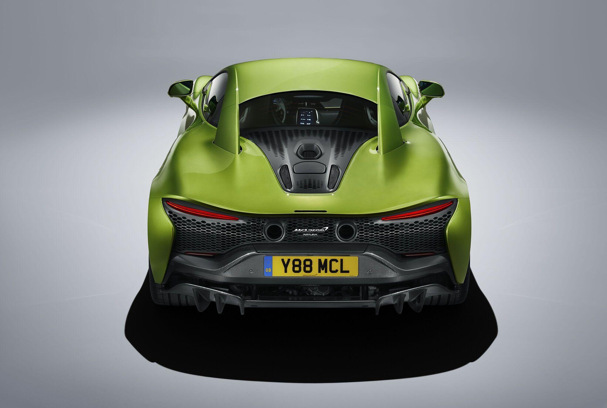 Задня частина McLaren Artura