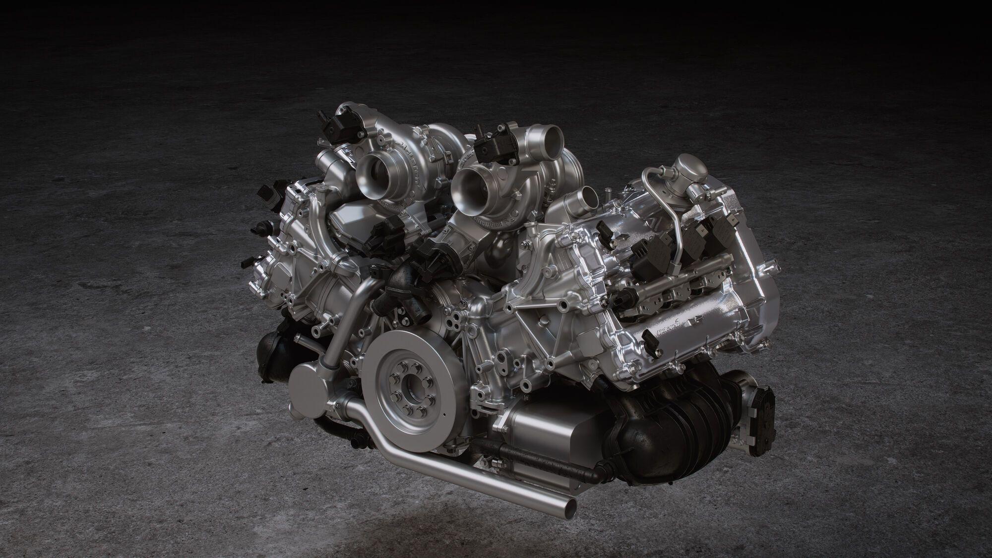 Трилітровий V6 із подвійним турбонаддувом