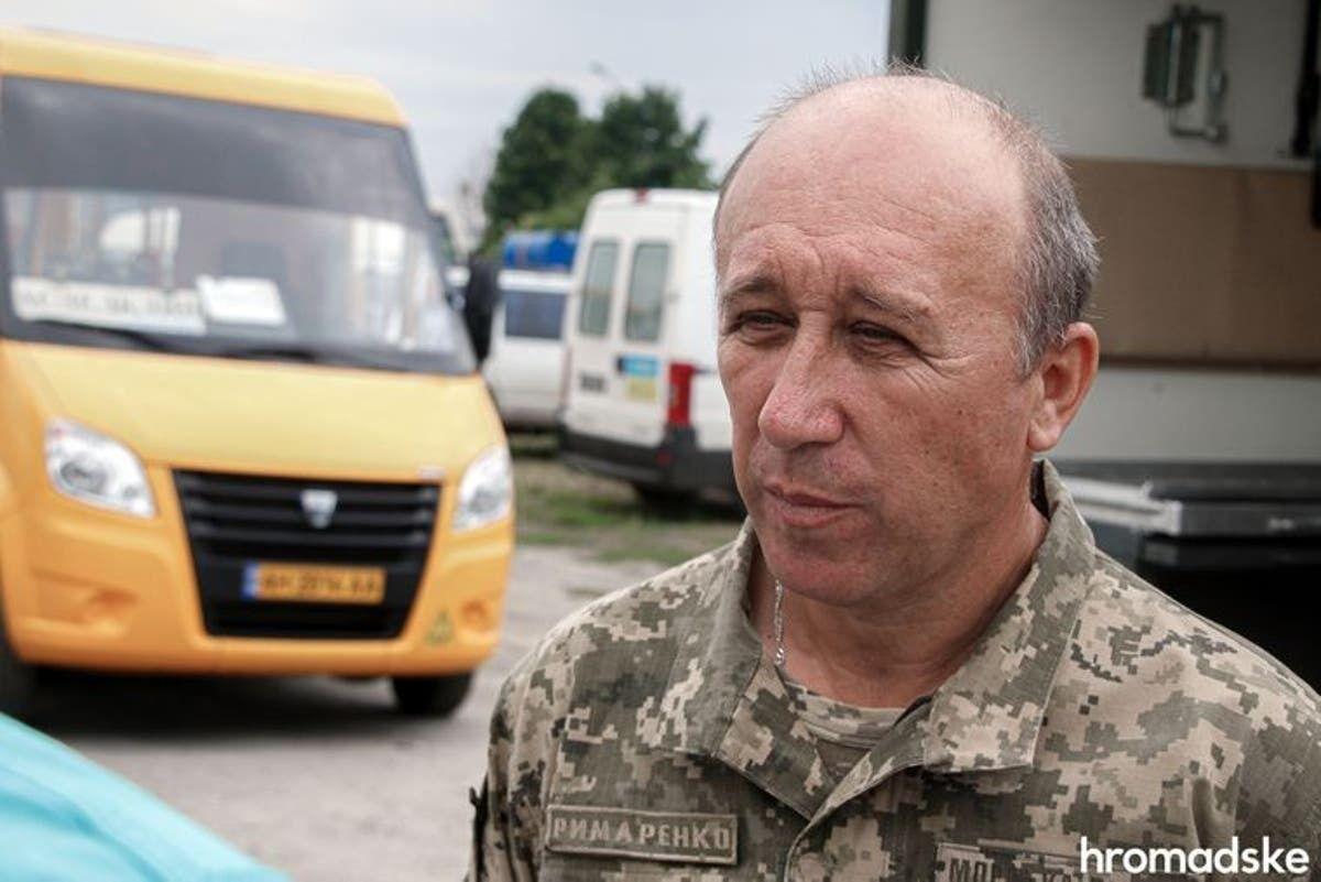 Командир 137-го батальона Вадим Рымаренко.