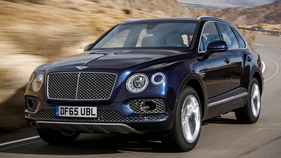 В Україні Bentley Bentayga дуже люблять