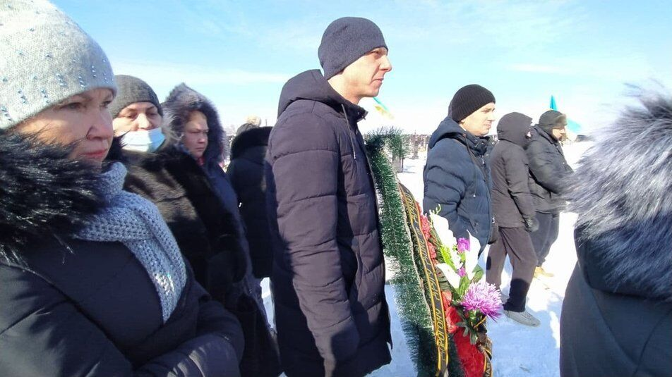 Похорон Дмитра Мироненка