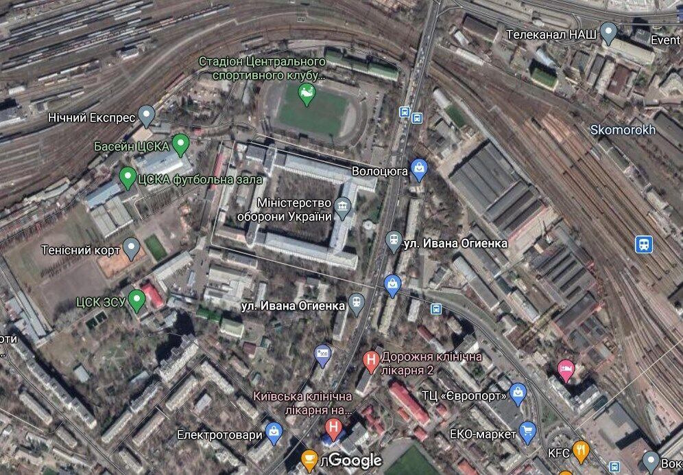 Убивство сталося в Шевченківському районі Києва (на межі з Солом'янським)