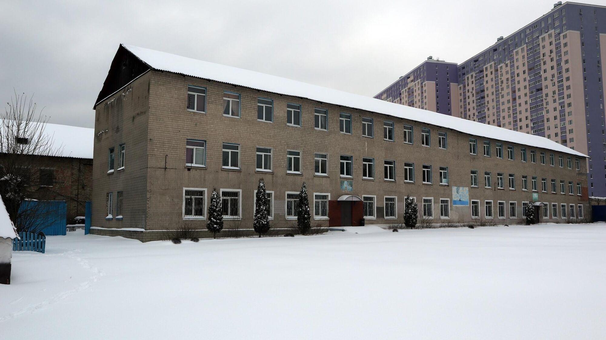 Будівлі Ірпінського виправного центру.