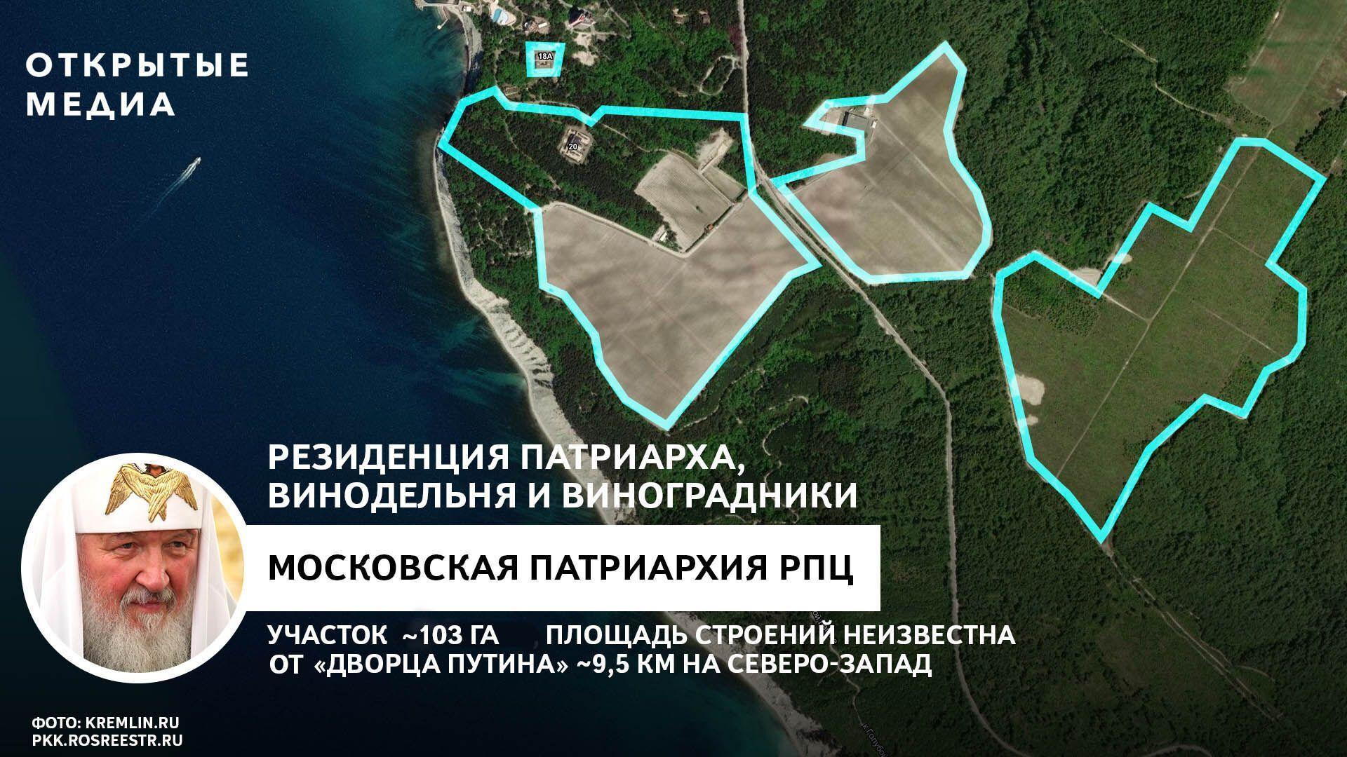 Земля патріарха Кирила