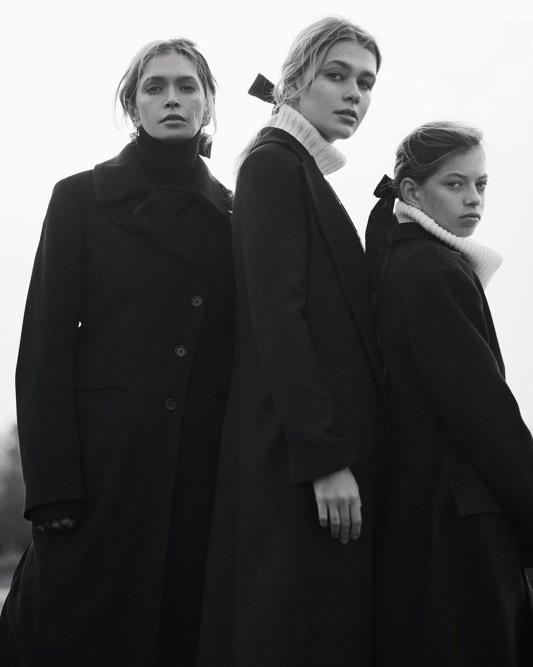 Вера Брежнева с дочерьми