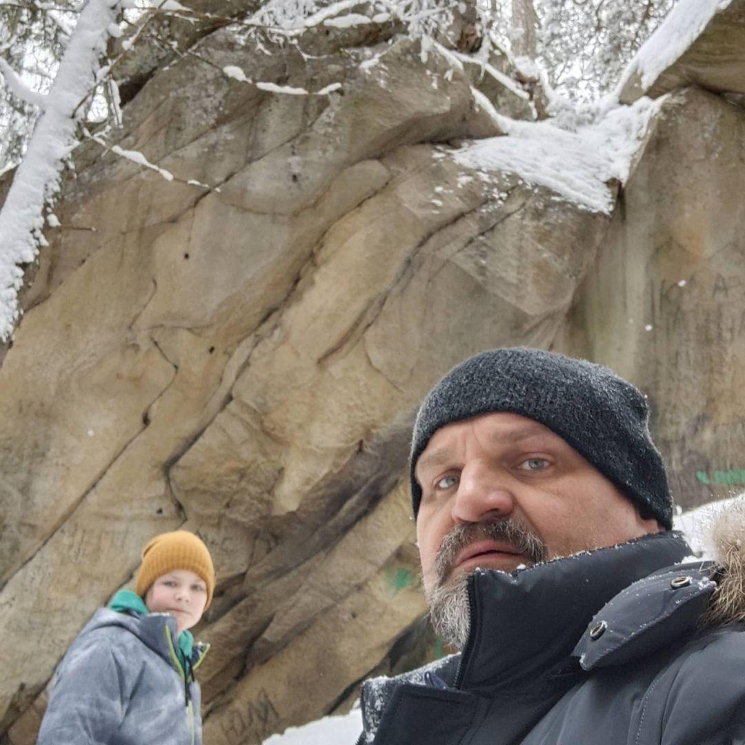 Вирастюк на скале