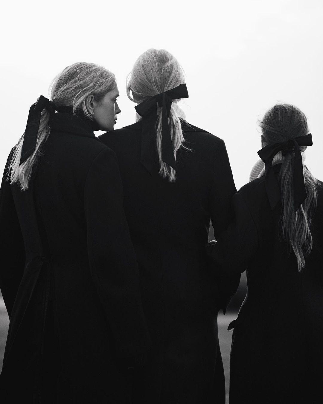 Віра Брежнєва з доньками