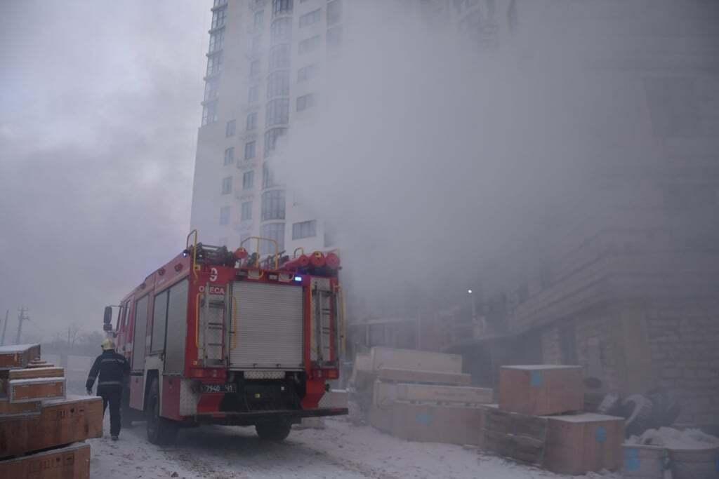 Пожежа сталася вранці 18 лютого