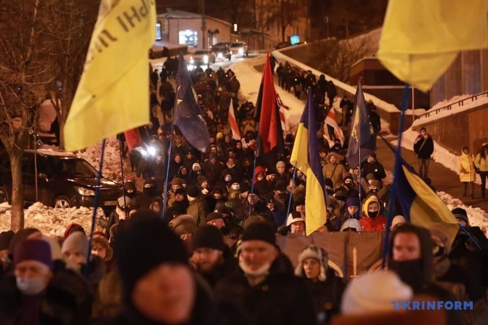 Активісти пройшлися центром столиці