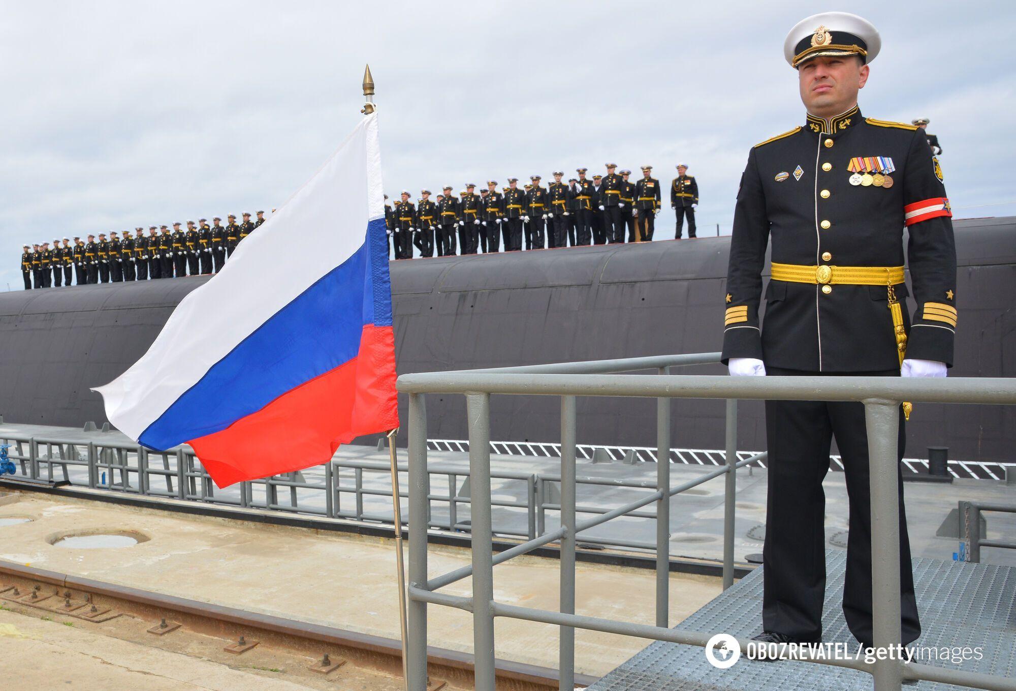 """Атомний підводний човен """"Князь Володимир""""."""