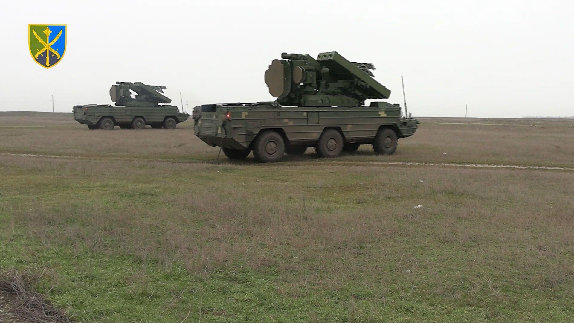 ВСУ потренировались сбивать ударные безпилотники противника.