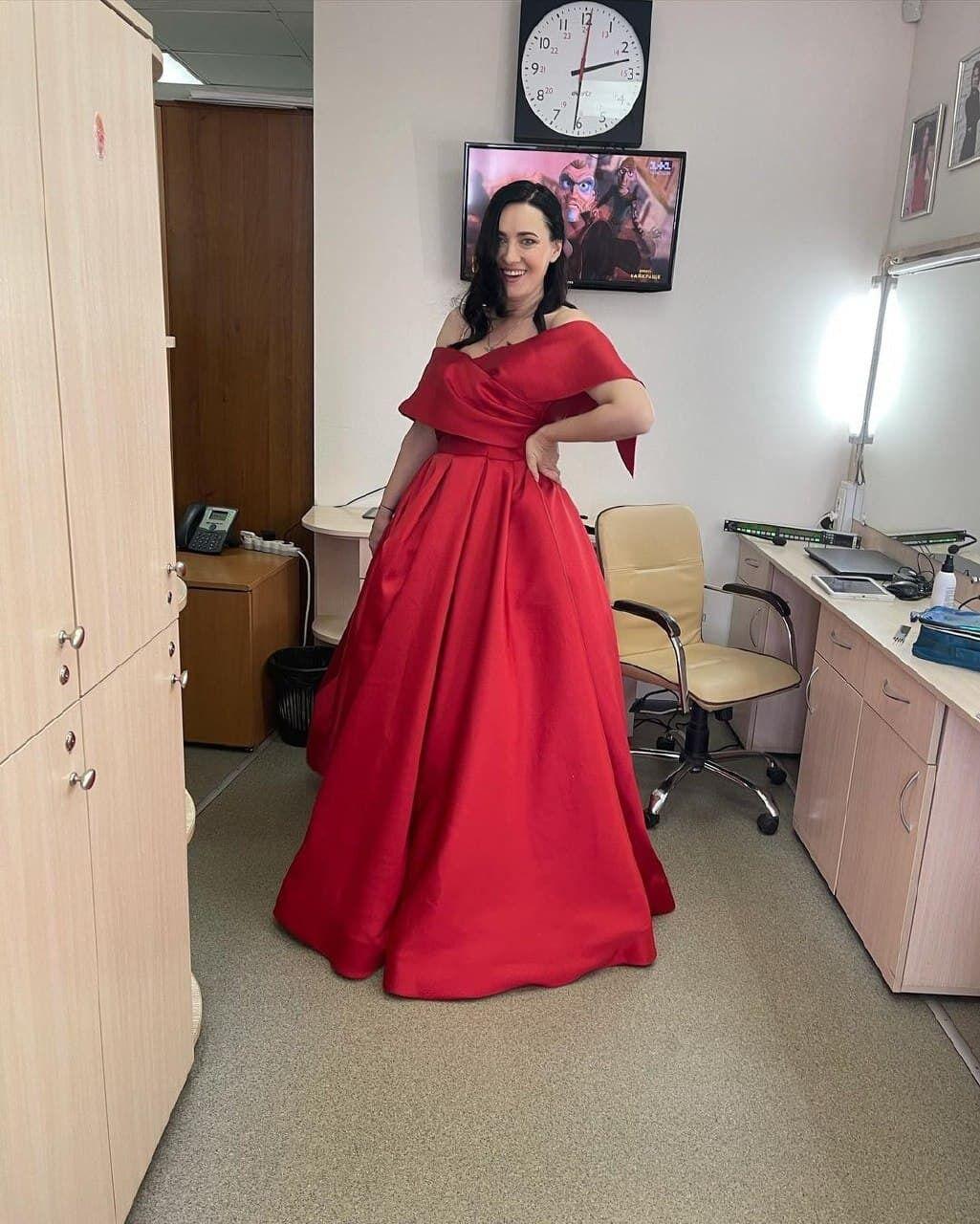 Соломия Витвицкая в платье
