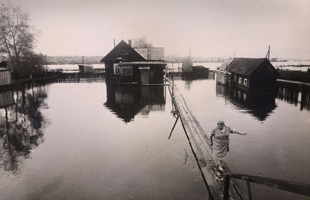 Затопленная деревня, СССР