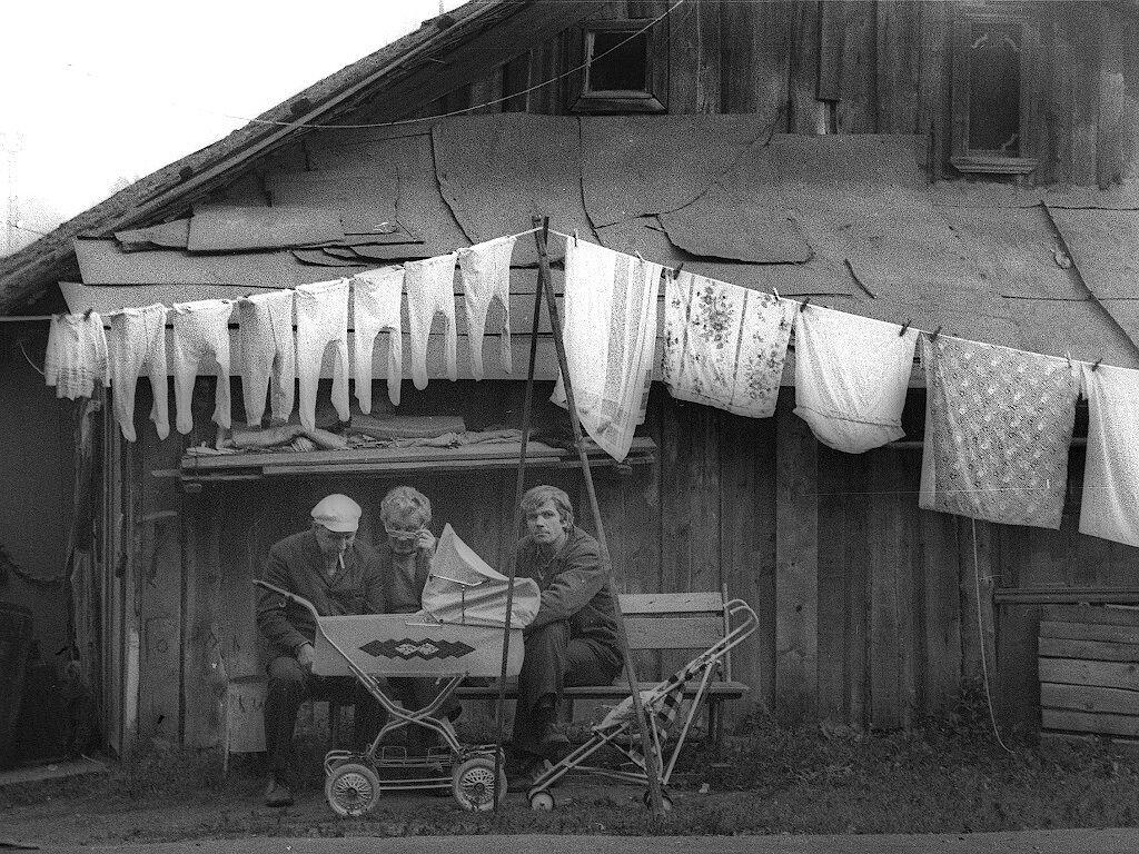 Жилой дом в селе, СССР
