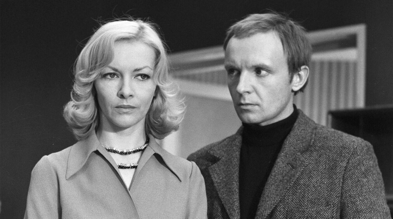 Андрей Мягков и Барбара Брыльска