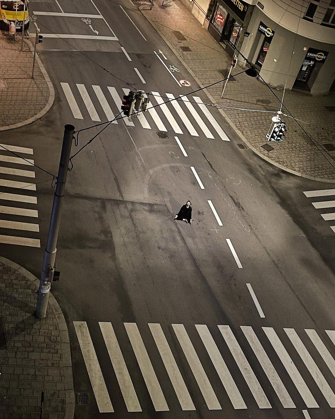Бабкин на дороге в Вене