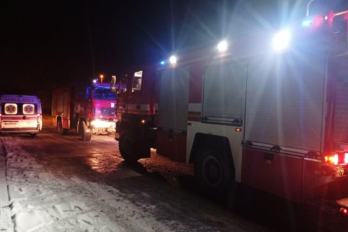На ликвидации пожара в Днепре работали семь спасателей
