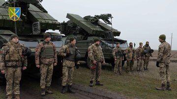 Учения военных украинской армии на Херсонщине