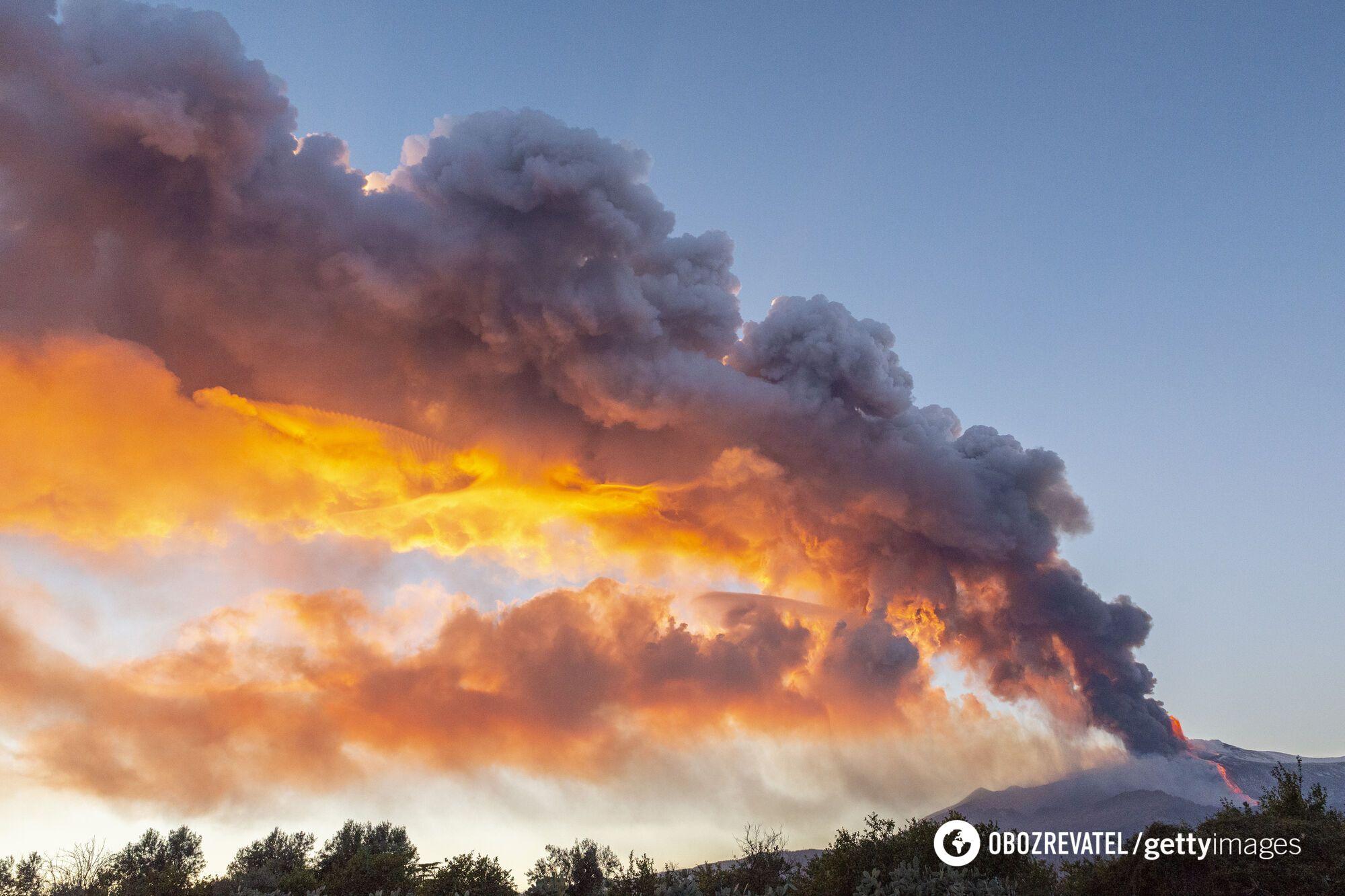 Виверження Етна 18 лютого 2021 року