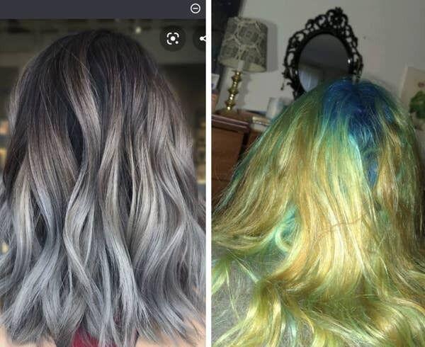 Ультрамодное окрашивание волос: ожидания и реальность.