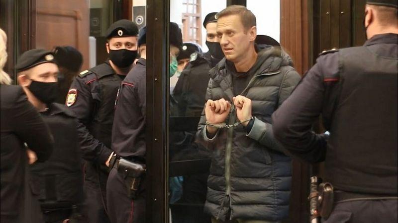 Навальний у суді