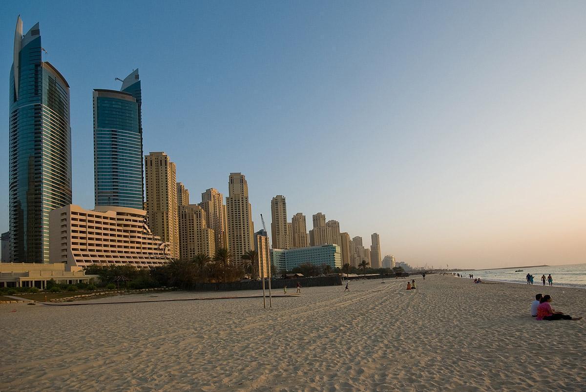 Пляж у Дубаї