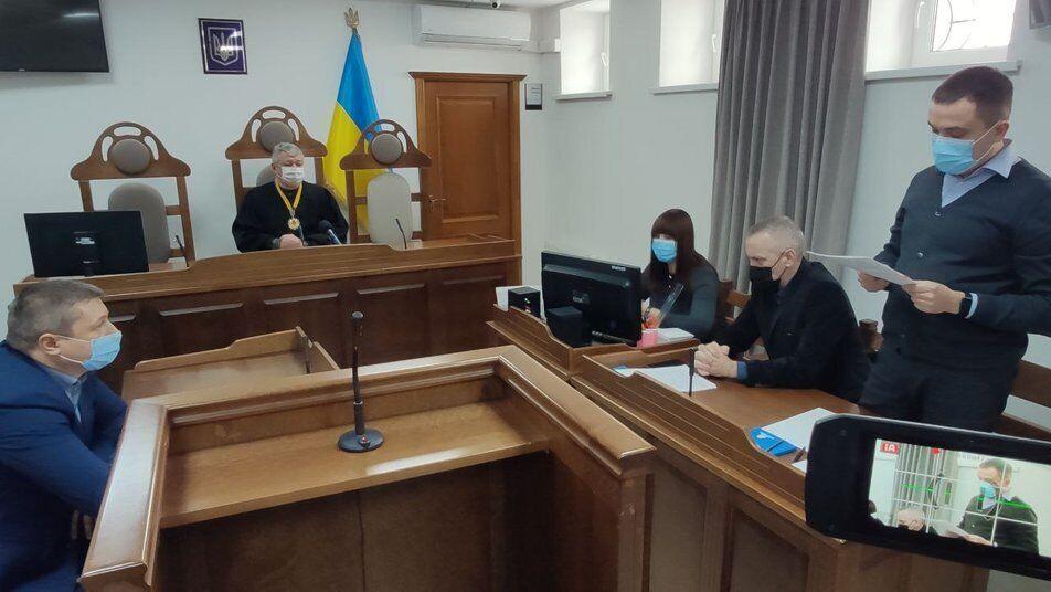 Судебное заседание по делу Кривоша