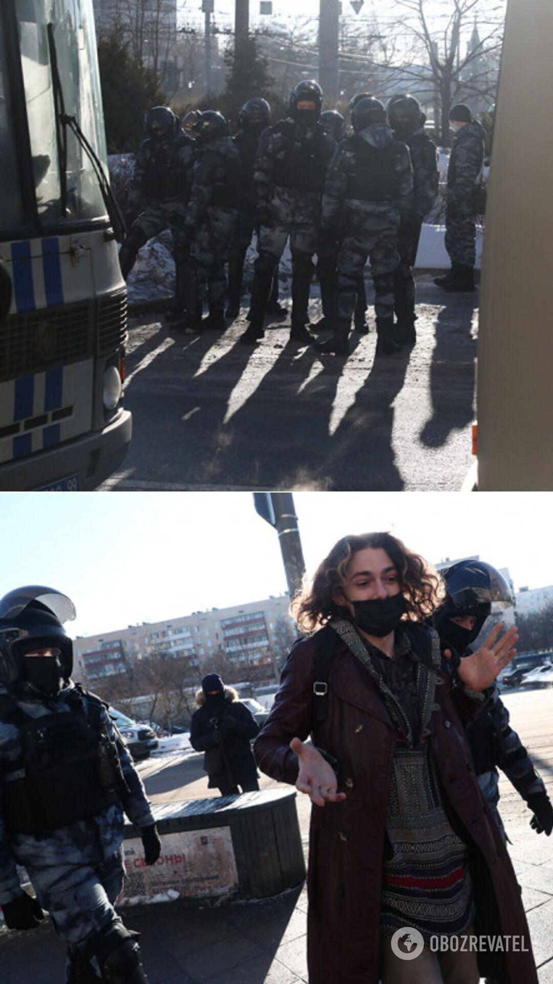 Задержания активистов у Мосгорсуда