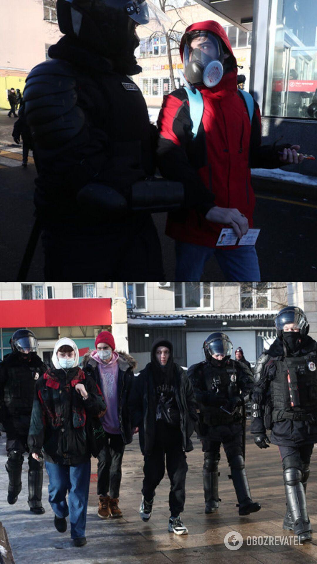 Среди задержанных есть журналисты