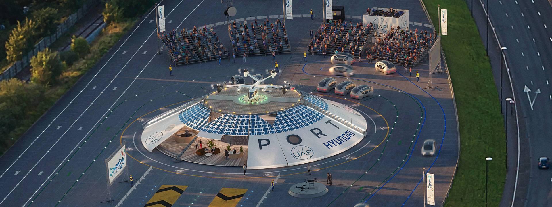Первый в мире порт для городского воздушного транспорта будет находиться в Британии