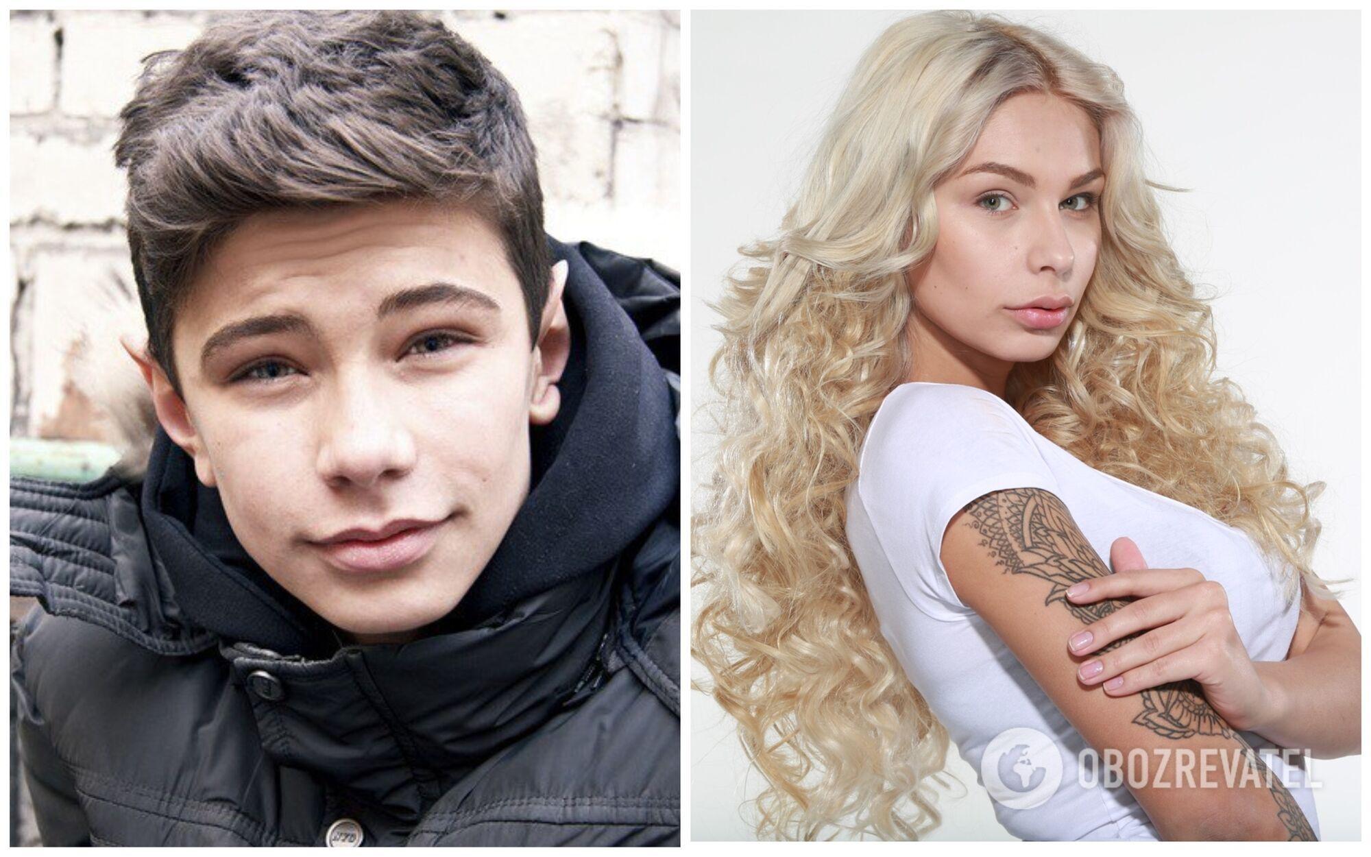 Юлия Мочалова в подростковом возрасте и сейчас