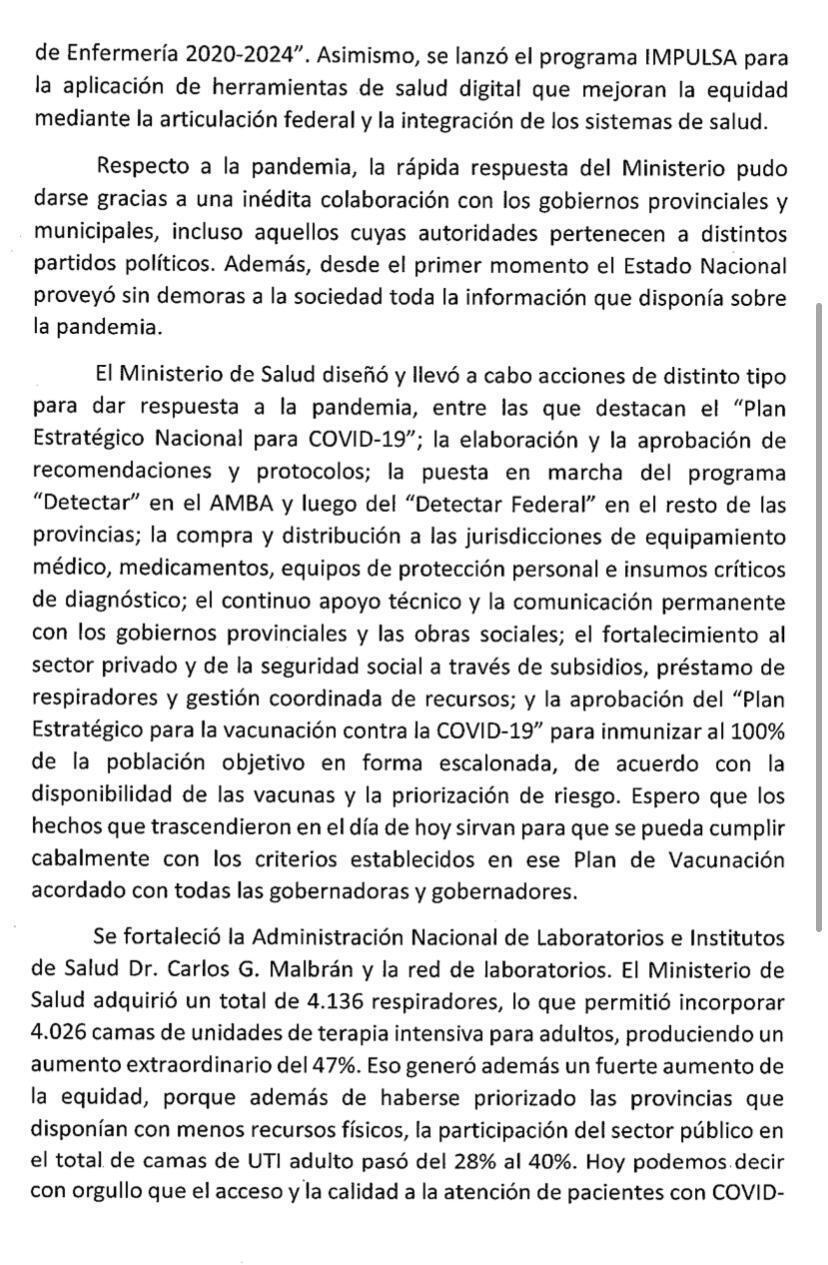 В Аргентине чиновники без очереди привились от COVID-19: глава Минздрава подал в отставку