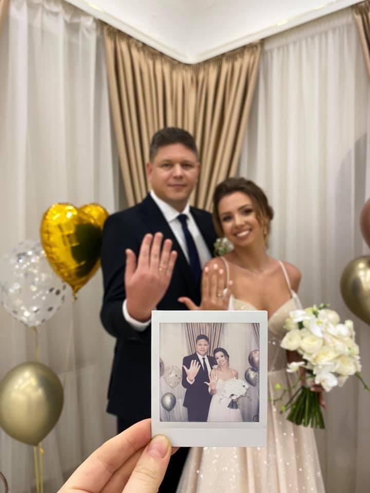 Одруження відбулося в одному із РАЦСів Києва