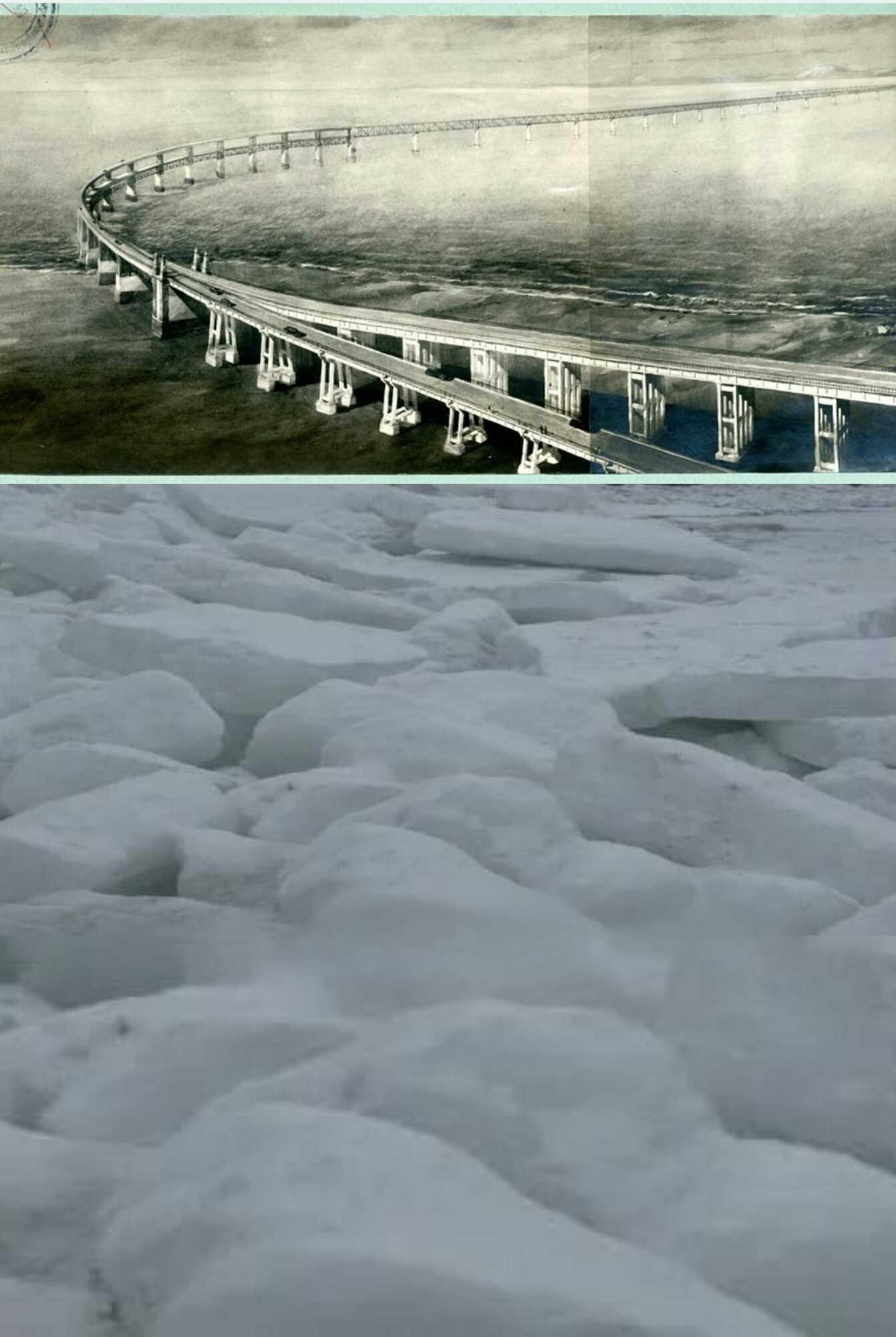 Крымскому мосту может угрожать ледоход на Азовском море.