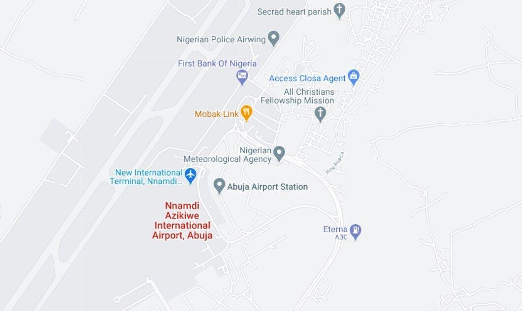 Літак згорів неподалік аеропорту в місті Абуджа