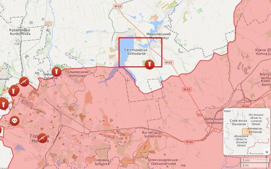 Враг открыл огонь по ВСУ в районе Светлодарска.