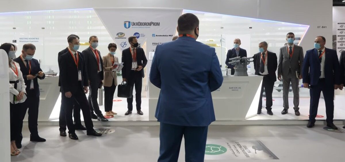 """""""Укроборонпром"""" представляет новую военную технику на выставке в ОАЭ"""