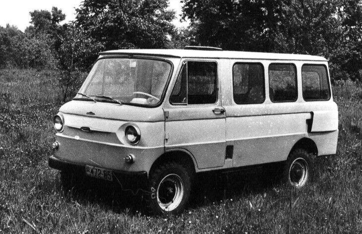 Експериментальний мінівен ЗАЗ-971