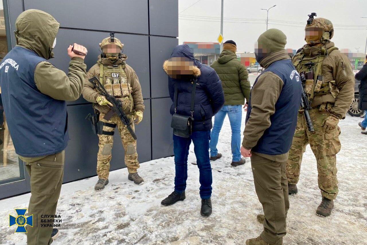В Харькове СБУ поймала агента Генштаба ВС России. Видео операции