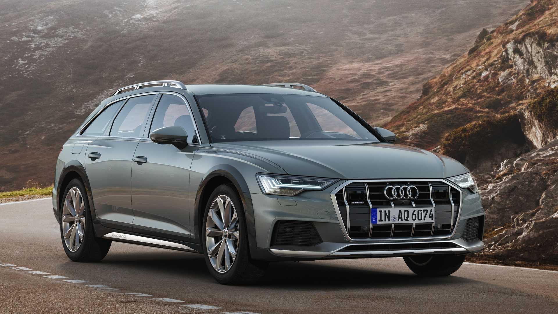 Audi А6 Allroad выглядит очень респектабельно