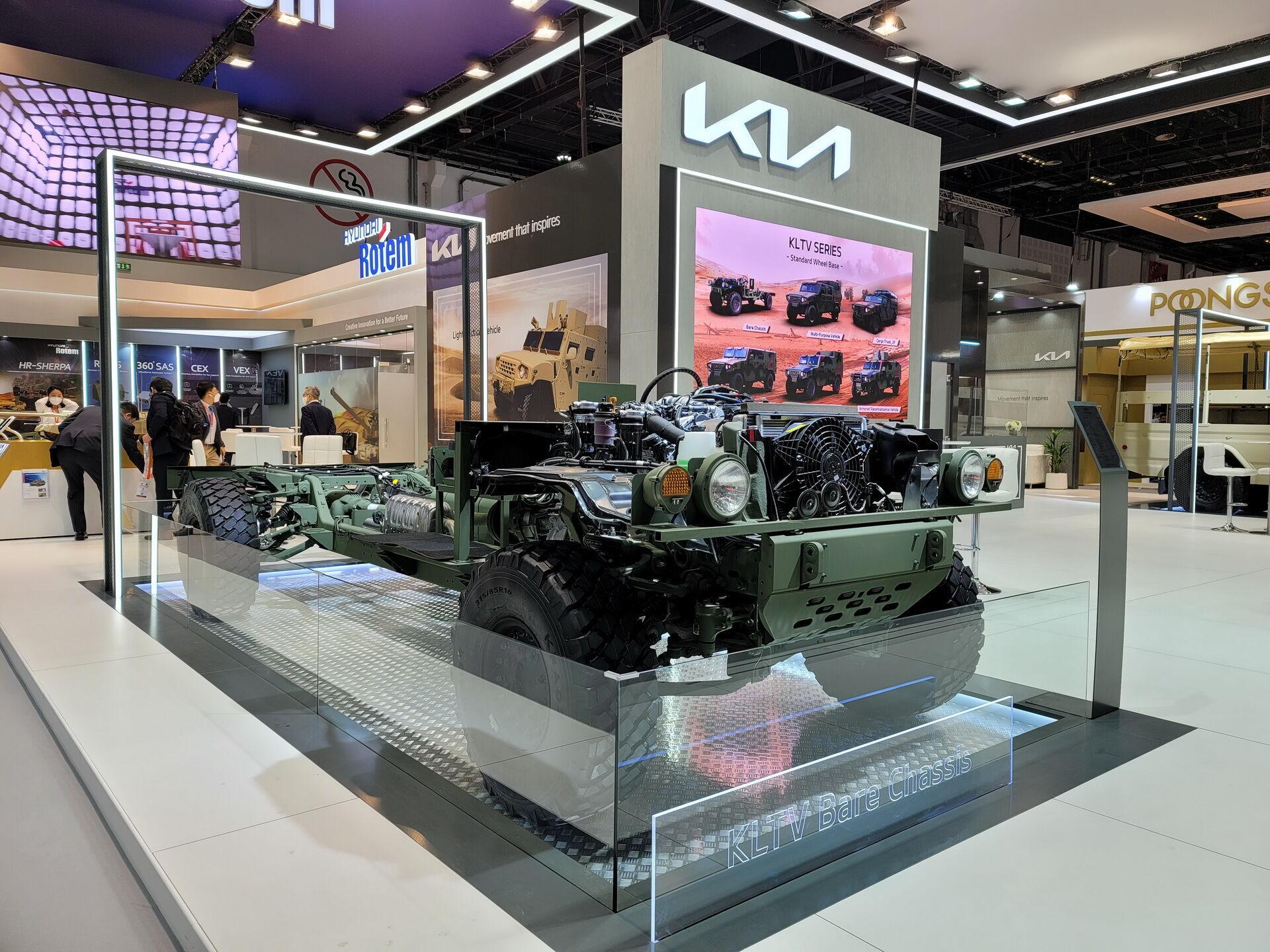 Базовое шасси можно использовать для создания специальных версий машины, в том числе и бронированных