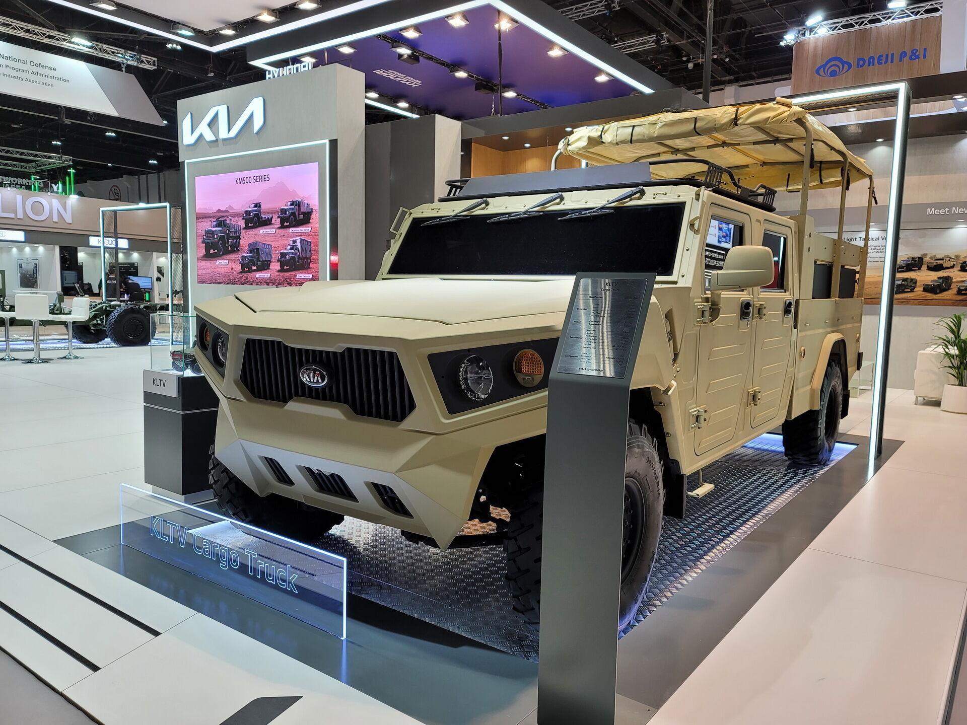 Новая версия вездехода KLTV создана при участии государственного Агентства оборонных разработок
