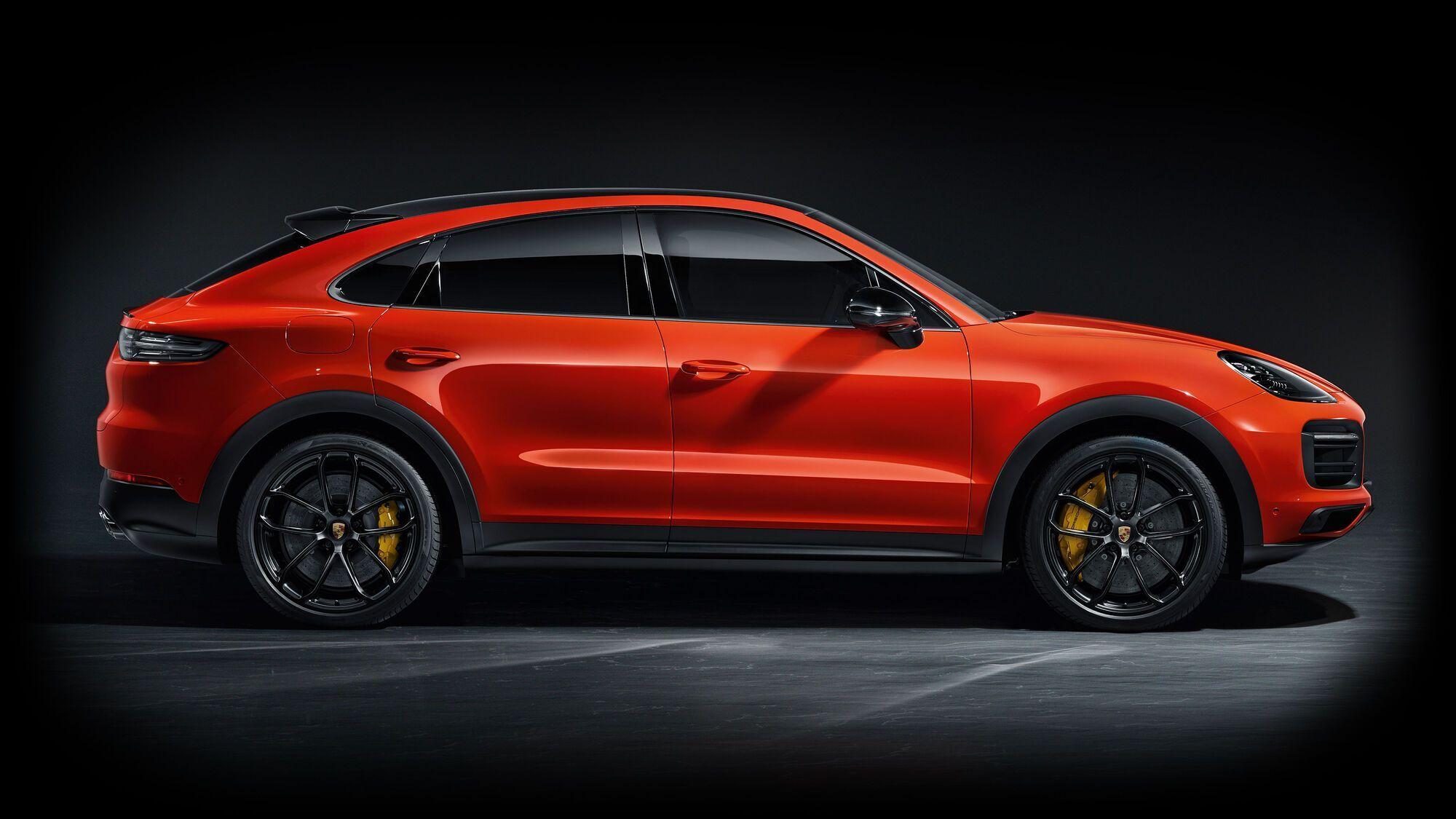 Cayenne Coupe – один из новейших купе-кроссоверов на рынке
