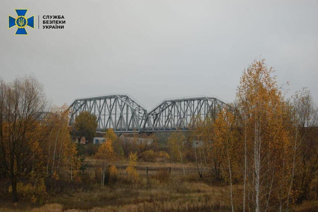 Міст на ділянці міжнародного сполучення Гомель - Чернігів - Київ