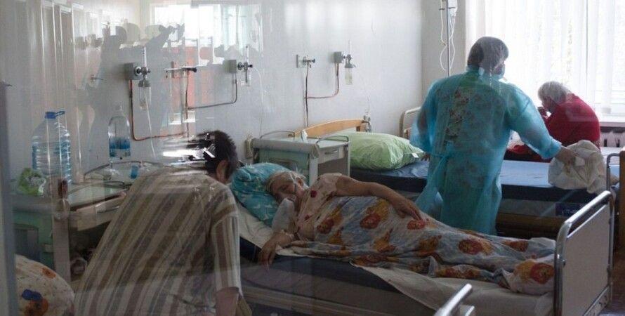 Больницы Ивано-Франковска переполнены
