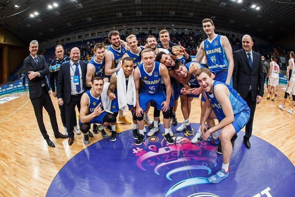 Збірна України з баскетболу.