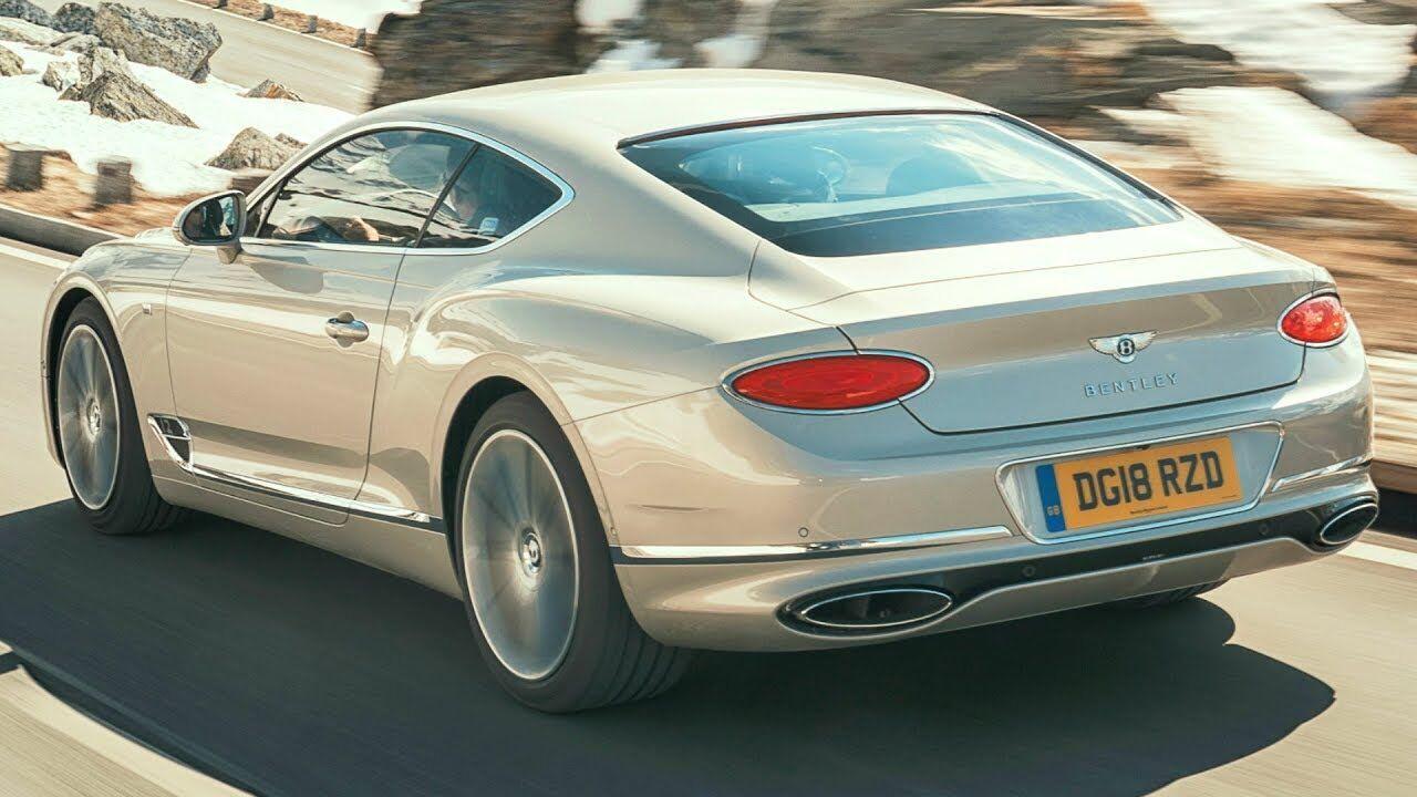 Bentley Continental GT – роскошный фастбэк