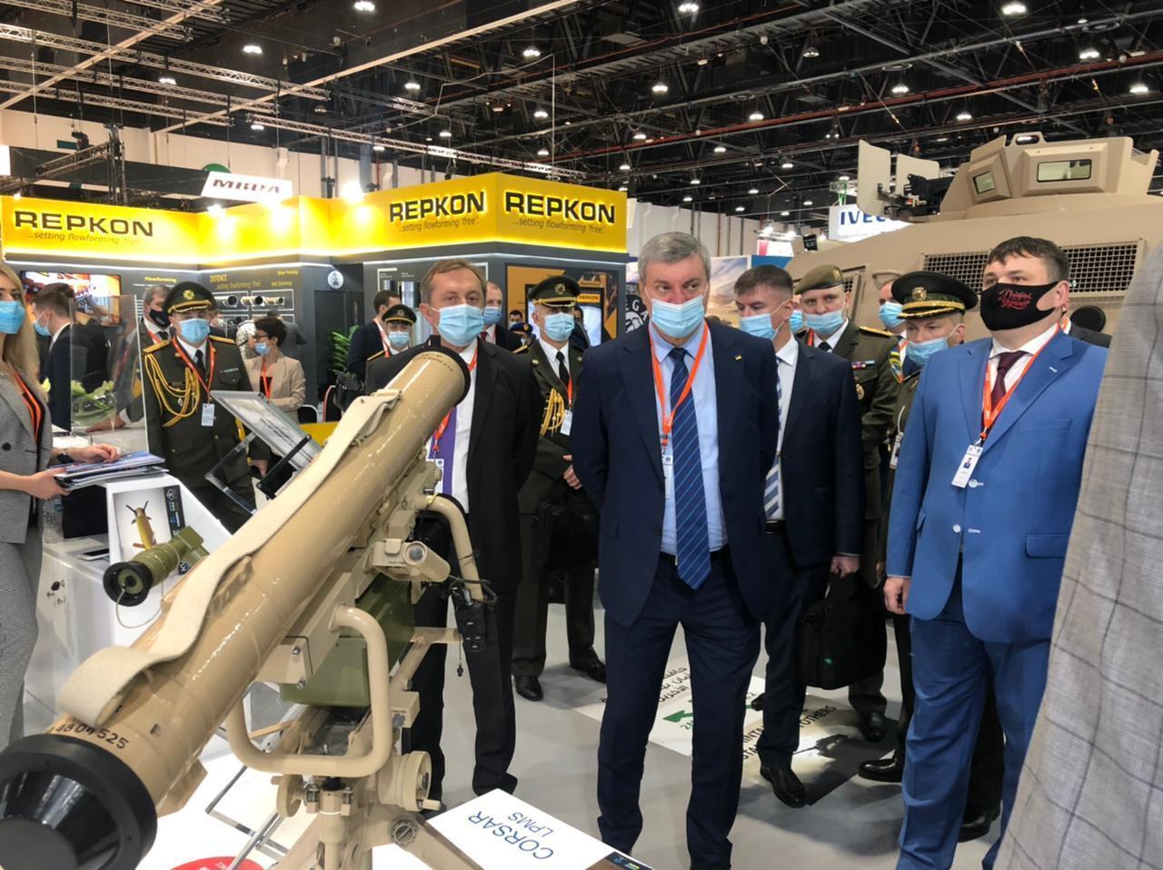 Выставка оружия в ОАЭ