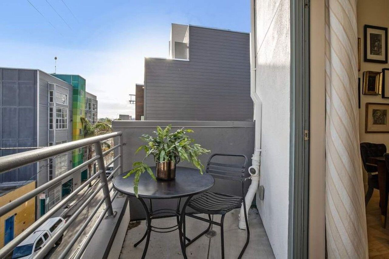 Балкон в квартире Камалы Харрис