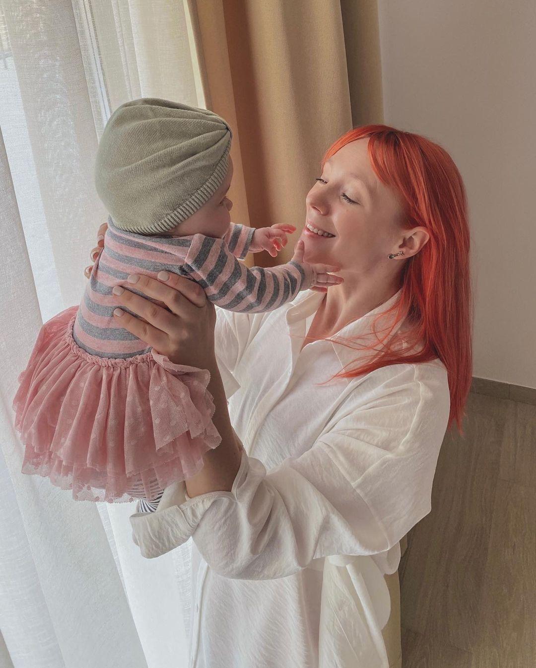 Тарабарова с дочерью Марией